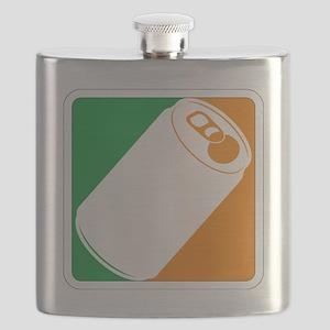 Major Irish Sq Flask