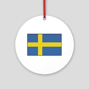 Sweden - Flag Ornament (Round)