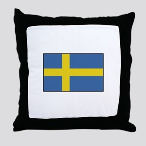 Sweden - Flag Throw Pillow