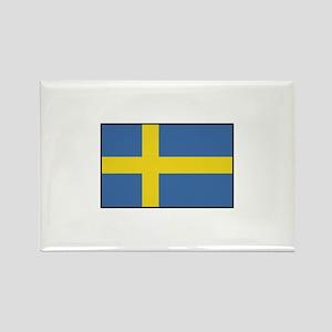 Sweden - Flag Rectangle Magnet