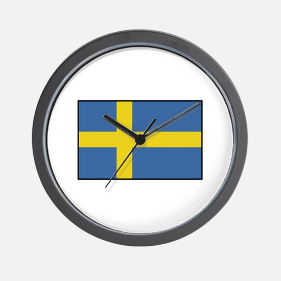 Sweden - Flag Wall Clock