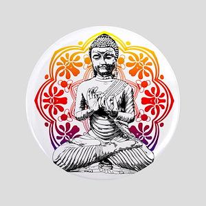 """buddha 3.5"""" Button"""