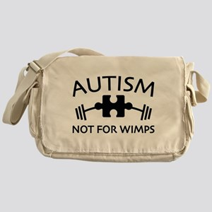 Autism Not For Wimps Messenger Bag