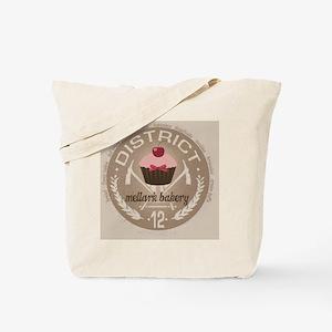 mellark bakery buttons hunger games uniqu Tote Bag