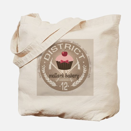 mellark bakery buttons hunger games uniqu Tote Bag