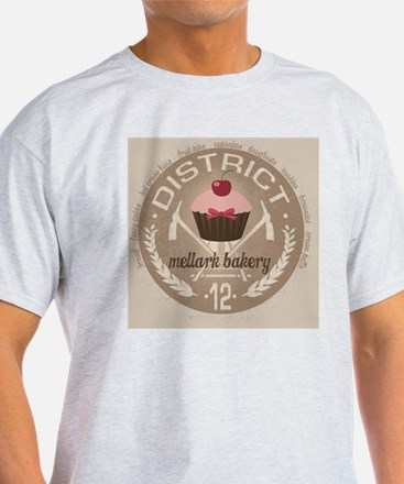 mellark bakery buttons hunger games  T-Shirt