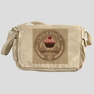 mellark bakery buttons hunger games  Messenger Bag