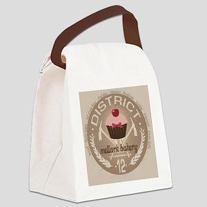 mellark bakery buttons hunger gam Canvas Lunch Bag