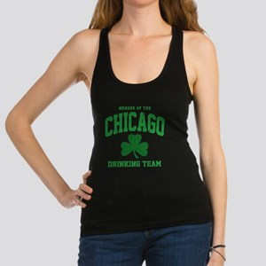 Chicago Drinking Racerback Tank Top