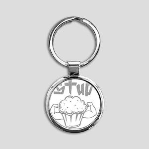 studmuffingry Round Keychain