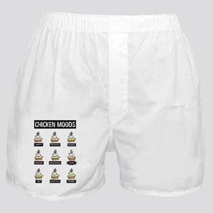 Chicken Moods Boxer Shorts