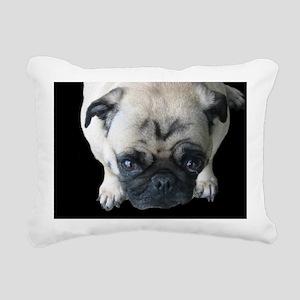 gabby_black_bg1 Rectangular Canvas Pillow