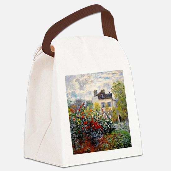 Pillow Monet Argenteuil Canvas Lunch Bag