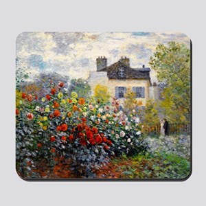 Pillow Monet Argenteuil Mousepad