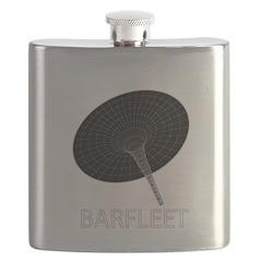 Barfleet logo Flask