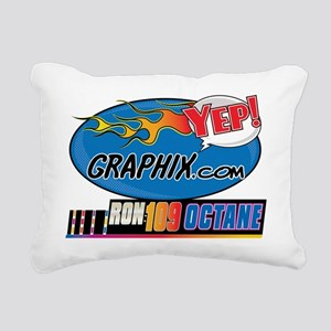 yep_logo_flamesRON109 Rectangular Canvas Pillow