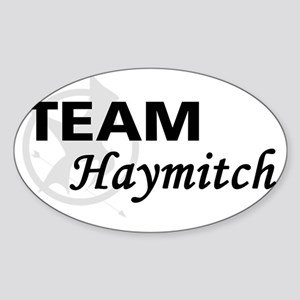 Team Haymitch Sticker (Oval)