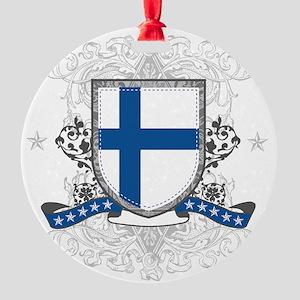 finlandshield Round Ornament