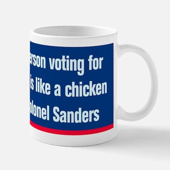 Colonel Sanders-CP.gif Mug