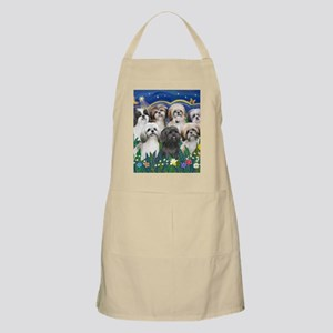 Tile-MoonGarden-7ShihTzuCUTIES Apron