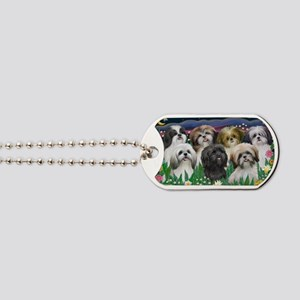 7 Shih Tzus - by JF Dog Tags