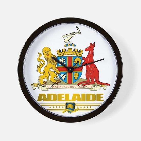 Adelaide (Flag 10)2 Wall Clock