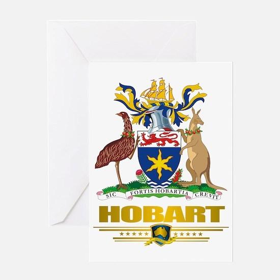 Hobart (Flag 10)2 Greeting Card