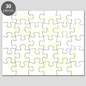 therapistbichonfrise_black Puzzle