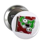 """Dog Pin 2.25"""" Button (100 pack)"""