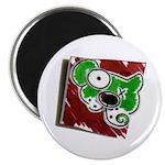 "Dog Pin 2.25"" Magnet (100 pack)"