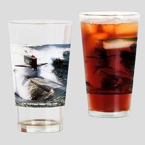 nnewsssn framed panel print Drinking Glass