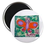 """butterfly 2.25"""" Magnet (100 pack)"""