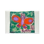 butterfly Rectangle Magnet (100 pack)