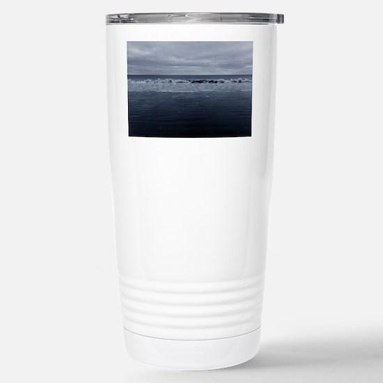 blue tide Stainless Steel Travel Mug
