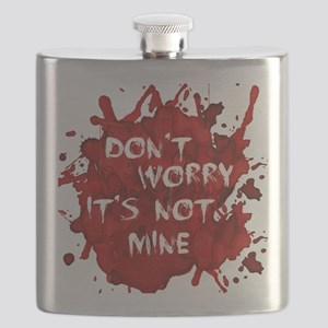 bloodnotmine Flask