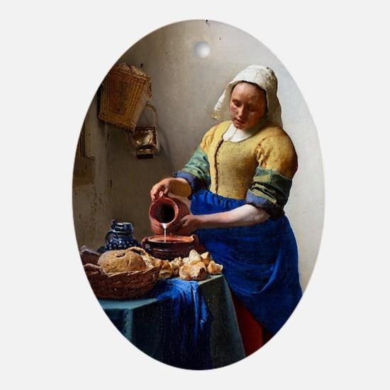 Vermeer Mag1 Oval Ornament