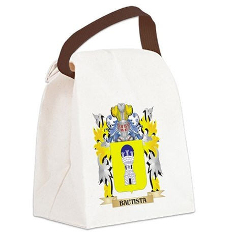 Bautista Coat of Arms - Family Cr Canvas Lunch Bag