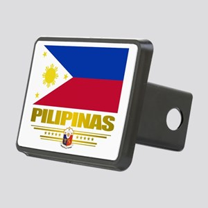 Philippines (Flag 10) 2 Rectangular Hitch Cover
