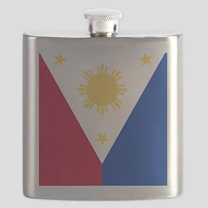 Philippine Flag (iPad2) Flask