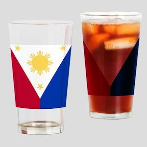 Philippine Flag (iPad2) Drinking Glass