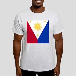 Philippine Flag (iPad2) Light T-Shirt