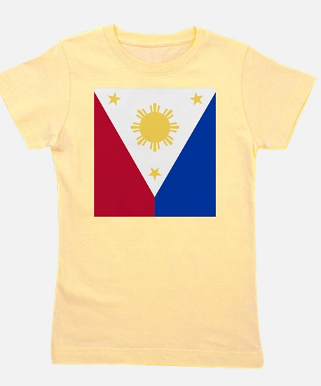 Philippine Flag (nexus s) Girl's Tee