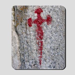 Cross of Saint James Mousepad