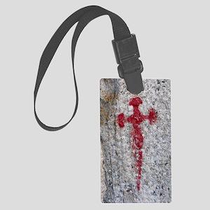 Cross of Saint James Large Luggage Tag