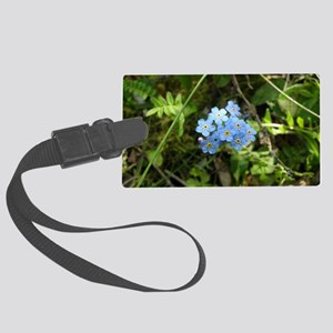 P7230069 Forgetmenot #01 Large Luggage Tag