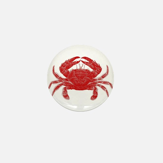 Crab Shack Art -- Mini Button