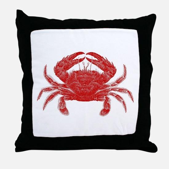 Crab Shack Art -- Throw Pillow