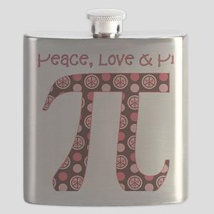 Peace, Love,  Pi Flask
