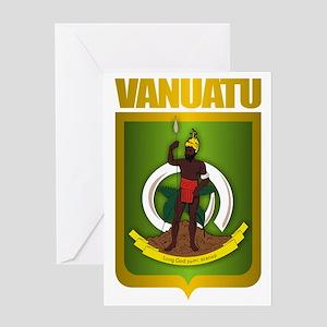 Vanuatu Gold Greeting Card