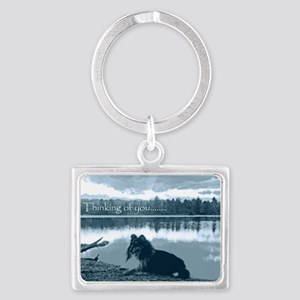 cafepress sissy lake final 5 x  Landscape Keychain